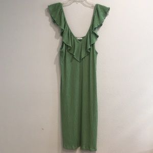 Zara green dress size L